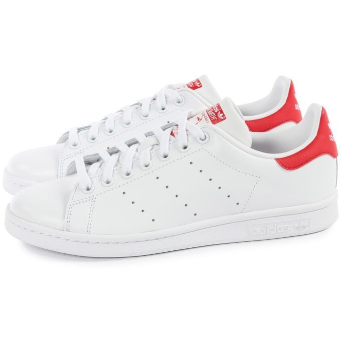 stan smith adidas blanche et rouge