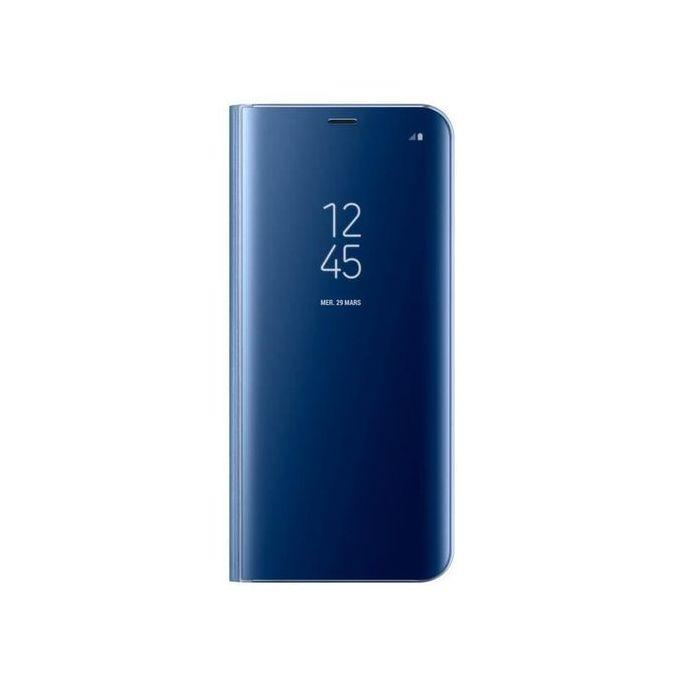 White Label Etui Clear View Pour Huawei Nova 3i Blue A Prix