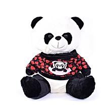 24c70ef9f9737 Peluche -Panda - Cœur - Rouge - 50 cm