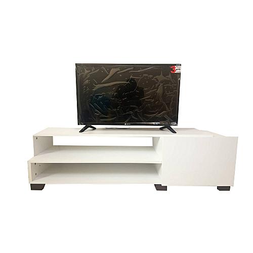 White Label Meuble Tv Avec Tiroir Casa Blanc 130 40 36 Cm A