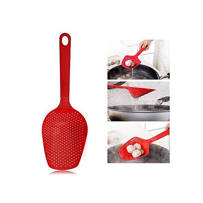 Louche plastique rouge ustensiles de cuisine pas for Ustensile cuisine rouge