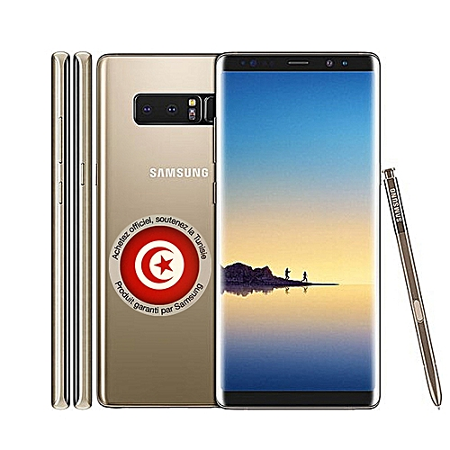 galaxy note 8 4g ram 6go 64go gold dual sim garantie 1 an telephonie pas cher sur. Black Bedroom Furniture Sets. Home Design Ideas