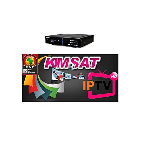 Abonnement Kimsat IPTV 12 mois pour recepteur starsat 2000HD hyper -  Garantie 1 an