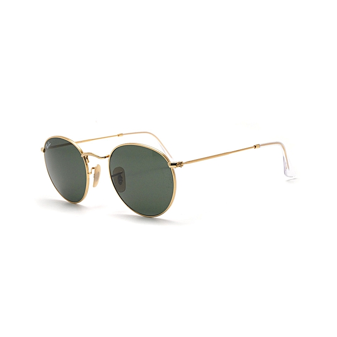 RAY BAN Lunettes de soleil Round Metal Or G-15 RB3447-001 53-21 ... 0c635d5e4fae