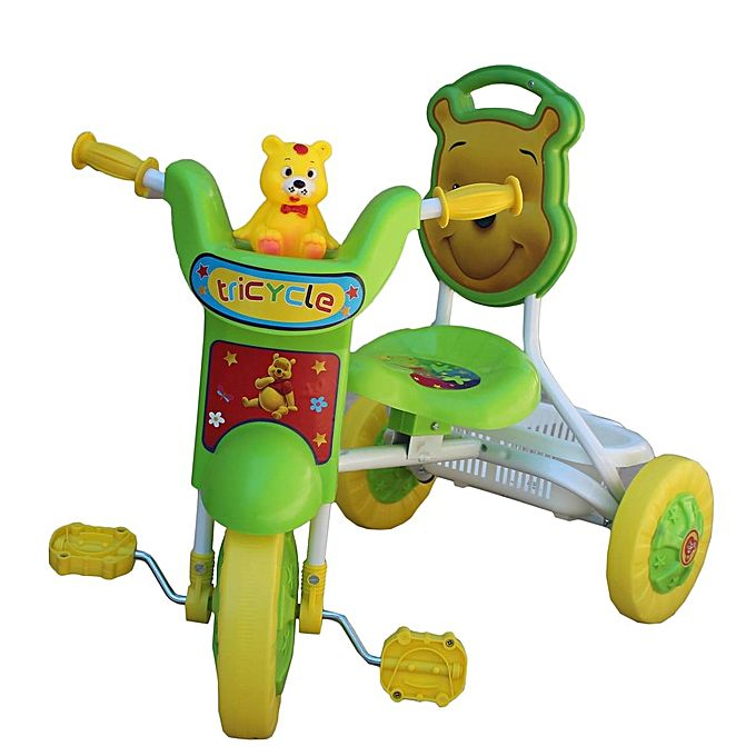 tricycle bebe vert jeux jouets pas cher sur jumia tunisie. Black Bedroom Furniture Sets. Home Design Ideas