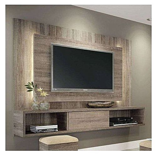 living tv parita 02 suspendu au mur mdf stratifie acheter en ligne jumia tunisie. Black Bedroom Furniture Sets. Home Design Ideas